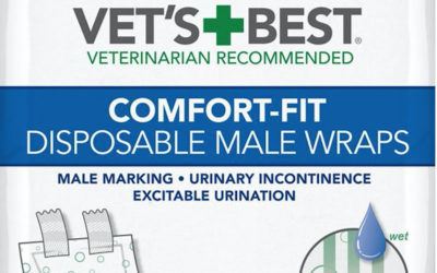 Vet's Best Comfort Fit Dog Diapers – #1 Best Seller