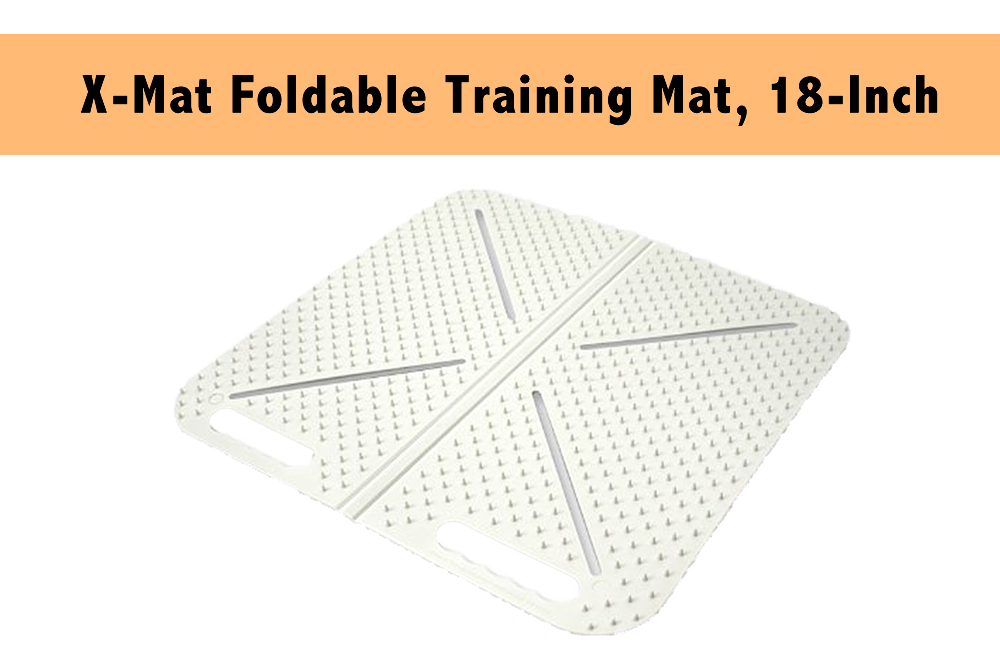 X-Mat Foldable Training Mat, 18-Inch