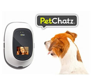 Pet camera treat dispenser